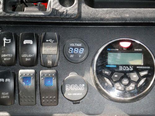 honda pioneer 700 stereo mounting bracket 007