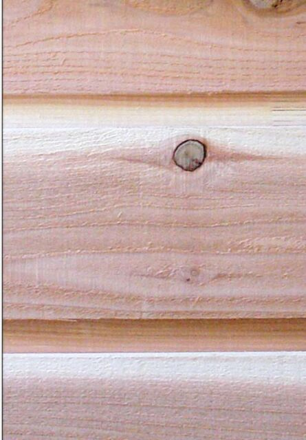 1x10 Western Cedar Rough Sawn Lap And Gap Siding We Ship For Sale Online Ebay