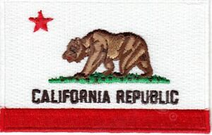 CALIFORNIA-STATE-FLAG-Iron-On-Patch-Flag-of-California-Republic