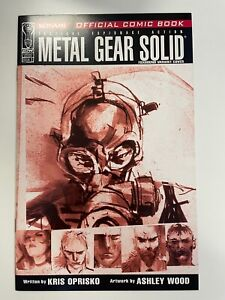 IDW METAL GEAR SOLID #1 : FOXHOUND COVER : ULTRA RARE : ASHLEY WOOD