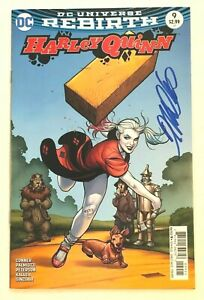 Harley-Quinn-9-VF-NM-Signed-FRANK-CHO-Variant-DC-2016-Series