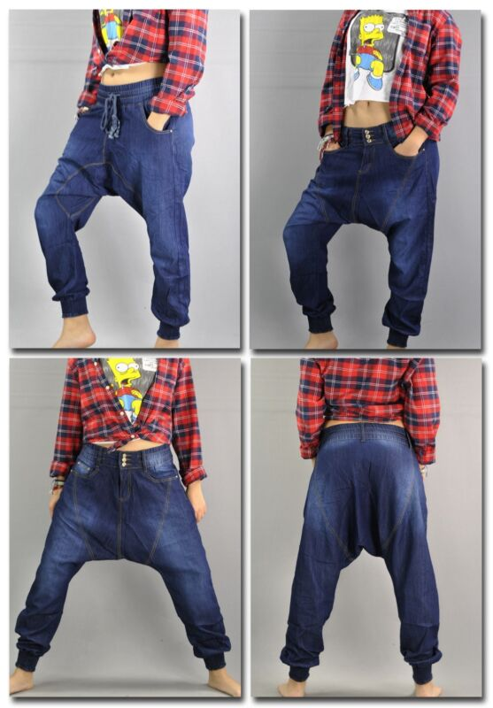%sale Pumphose Boyfriend Haremshose Pluderhose Aladinhose Jeans Hose Jp-720 Einfach Zu Verwenden