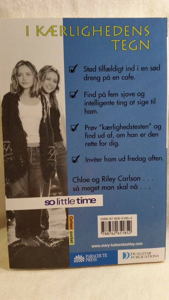 Mary-Kate and Ashley: So little time 5-6-8-10, Nancy