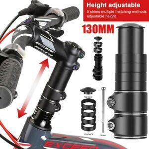120mm Fahrrad Lenkererhöhung Vorbauverlängerung Gabelschaftverlängerung Schwarz