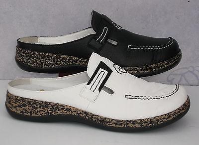 Rieker Schuhe Damen Pantolette Sabot, 46393 80 , Gr.36 42 +++NEU++++ | eBay