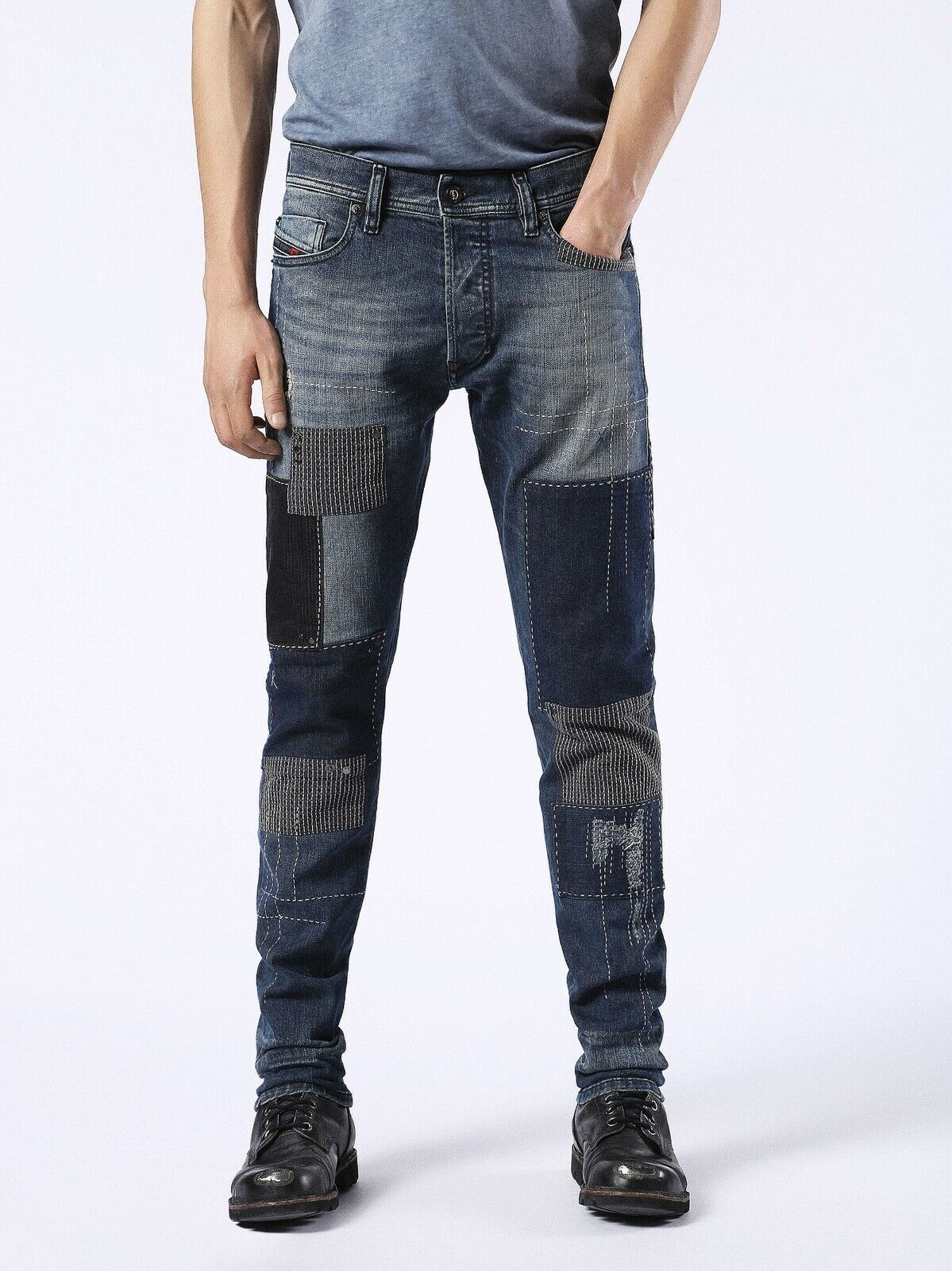 DIESEL Jeans TEPPHAR 0855J STRETCH Slim-Carred Limited Edition W34-L32