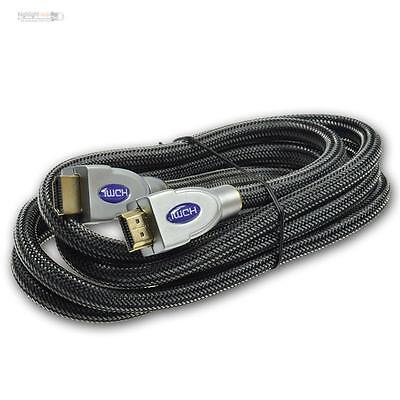 Ben Informato Cavo Hdmi 2m Highend Hdmi 2.0/1.4, 3d Hdcp Premium 4k/uhd Arc Cec Hec 200cm 2 M-