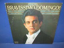Placido Domingo Bravissimo, Domingo! Tosca, Il Trovatore, Rigoletto Vol. 1982 LP