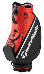 fd1b59acc22 TaylorMade Tour Staff Bag 2019 New - Black Blood Orange 120010206640 ...