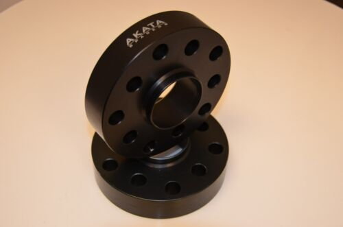 25MM BENTLEY HUB CENTRIC SPACERS 5X112 CB 57.1 BLACK ANODIZED