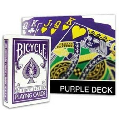 Bicycle Reversed Purple Deck Playing Cards
