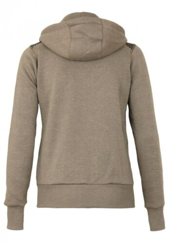Geographical Norway Donna Sweatjacke Fitness LADY Cappuccio Maglione Cardigan SWEAT