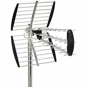 antenne terrestre rateau tnt hd dvb t tv exterieure fort gain 18