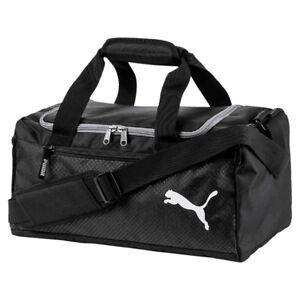 d258d89a01b1a Das Bild wird geladen PUMA-Fundamentals-Sports-Bag-XS-Sporttasche-Puma -Black-