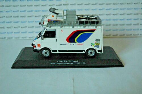 Citroen C35 Phase 2 Team Peugeot Talbot Sport Fahrzeuge D'Assistance Rallye