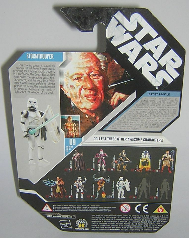 Star Wars 30th 30th 30th Anniversary TAC Concept Stormtrooper McQuarrie  cd05aa