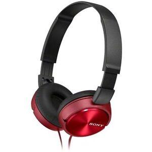 Sony MDRZX 310 Cuffie Rosso metallizzato Pieghevole qrqSTwgZ