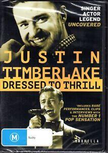 JUSTIN-TIMBERLAKE-DRESSED-TO-THRILL-DVD-R4-2014-BRAND-NEW-amp-SEALED