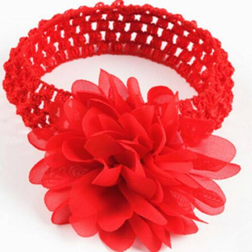 Hair Band Kids Girl Baby Headband Toddler Lace Bow Flower Accessories Headwear