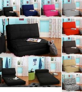 Flip Chairs Folding Sleeper Your Lounge Bed Dorm Room Zone