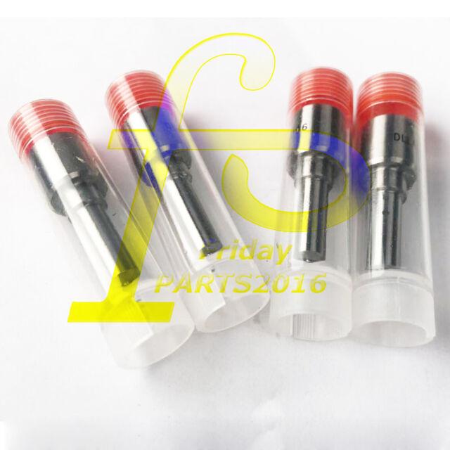 4pcs Isuzu 4JB1 Injector Nozzles For Mustang Bobcat 843 853 1213 960 2060 Loader