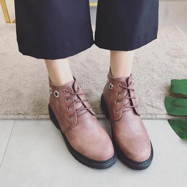 boots low schuhe combat boots 3 schwarz Braun elegant like Leder 9641