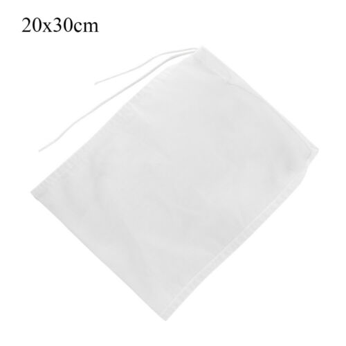Cooking Colander Coffee Filter Cheesecloth Nylon Fine Mesh Nut Milk Bag