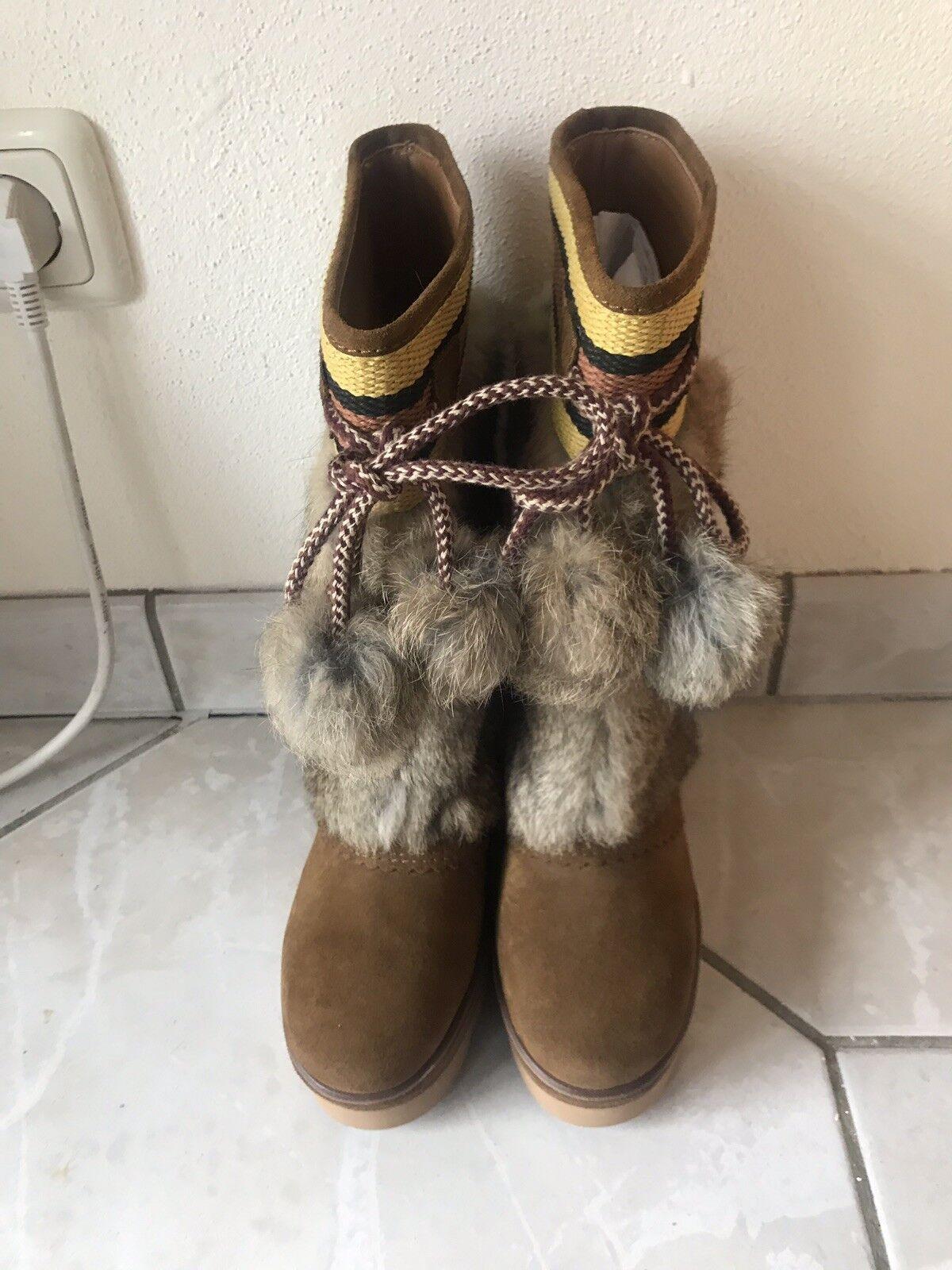 shopping online di moda See by by by Chloe pelliccia stivali invernali  EURO 38  conveniente