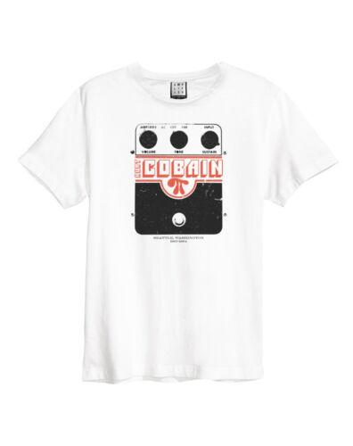 Amplified Kurt Cobain Super Fuzz Homme T-shirt blanc