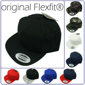 ORIGINALE-Flexfit-5-Panel-Snapback-Basecap-Baseball-Cap-Berretto-Berretto-034