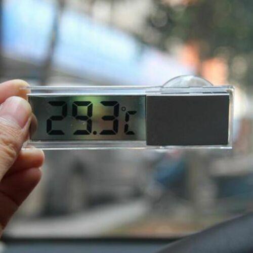 Mini Car Indoor Temperature Meter Thermometer LCD Digital Display With Sucker US