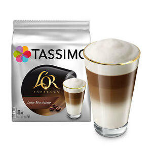 tassimo t discs l 39 or espresso latte macchiato coffee pods ebay. Black Bedroom Furniture Sets. Home Design Ideas