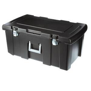 Image Is Loading Footlocker Trunk Garage Dorm Camping Gear Storage Box