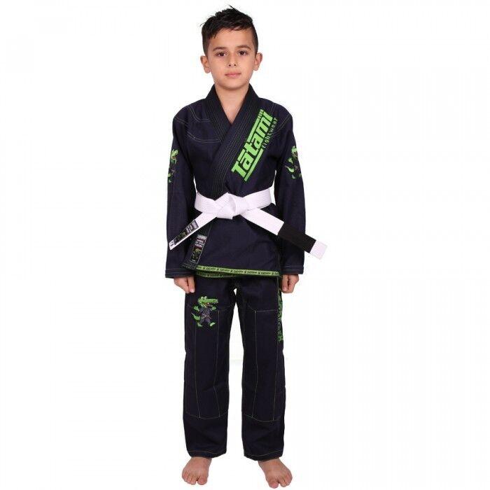 Tatami Bjj Gi Meerkatsu Kinder Tier Marineblau Brasilianischer Jiu Jitsu Uniform