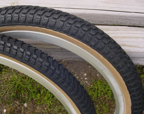2.125 Black Snakebelly skinwall BMX tires pair by CST 20x1.75