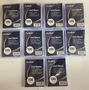 1000 PRO-SAFE Soft Trading Card Penny Sleeves Acid Free No PVC Pokemon
