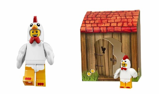 LEGO 71000 Series 8 Chicken Suit Guy / Iconic Easter Minifigure 5004468