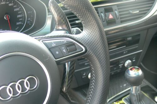 Carbon Schaltwippen-Verlängerung passt für Audi Q5 8R Q7 R8 TT TTS TTRS 8J V1