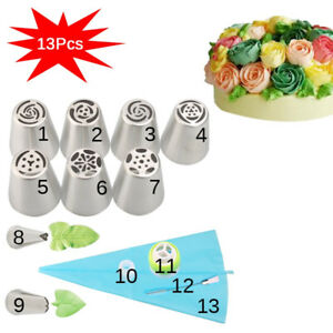 CakeLove - Flower-Shaped Frosting Nozzles Cake Piping Icing Decorating Tool