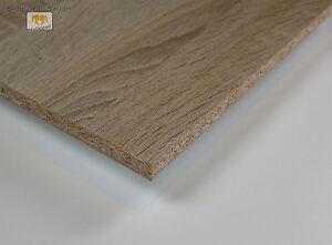 Dekor Spanplatte 19mm Holzzuschnitt Spanplatten Sonoma Eiche Ebay