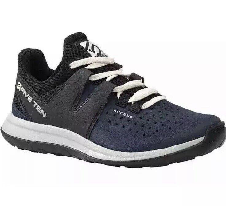 Nuevo cinco diez el acceso de mujer Collegiate Navy senderismo zapatos talla 11