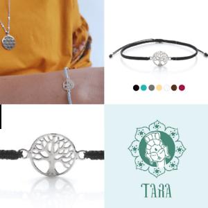 Fine Jewelry Tara Armband Lebensbaum Baum Des Lebens Silber 925 Viele Bandfarben Fairtrade Catalogues Will Be Sent Upon Request