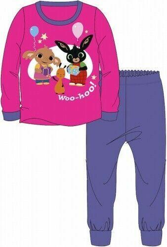 5 Years Bing Sula Pyjamas Childrens Kids Girls Pink Purple PJs Age 18 Months