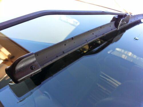 2 x Escobillas limpiaparabrisas flexibles para coche Ford Fiesta Hasta 2007