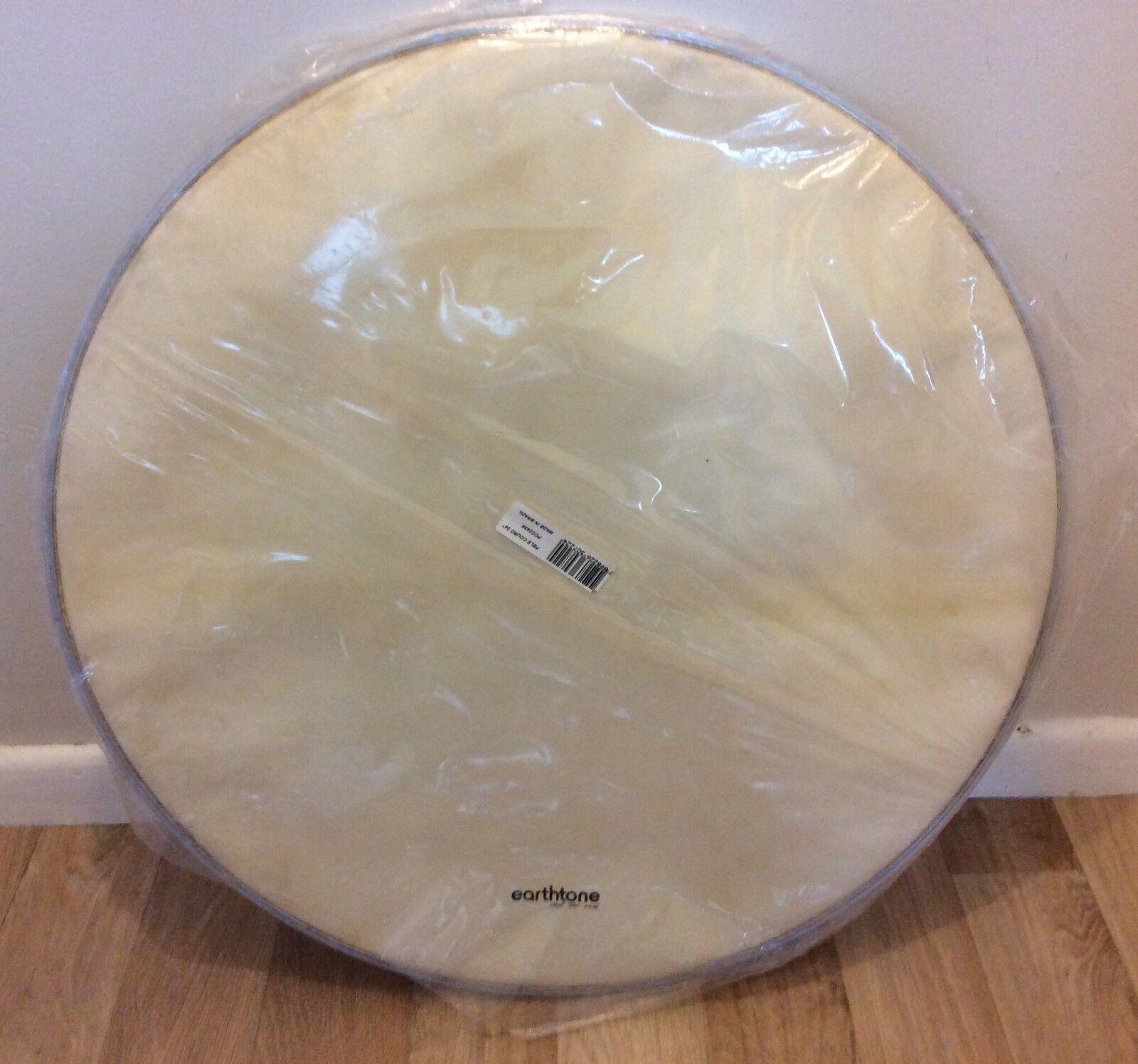 Earthtone 24  Real Hide Bass Drum Head