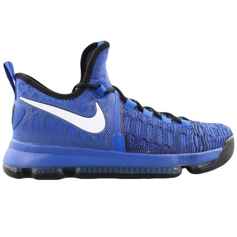 New Nike Zoom KD 9 Men's shoes Game Royal White Black 843392 410 size 10