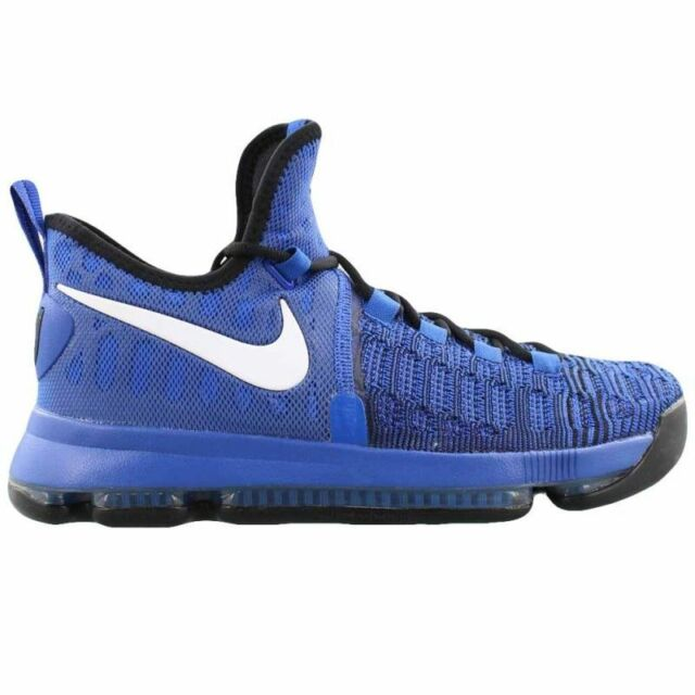the best attitude 43c79 13054 Nike KD 9 on Court Mens 843392-410 Game Royal Durant Basketball Shoes Size  10