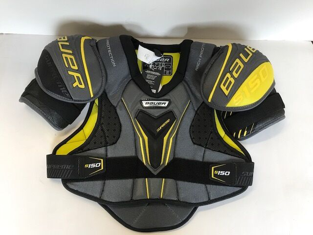 03243740342 Bauer Supreme S150 Hockey Shoulder Pads - Junior Sizes Small