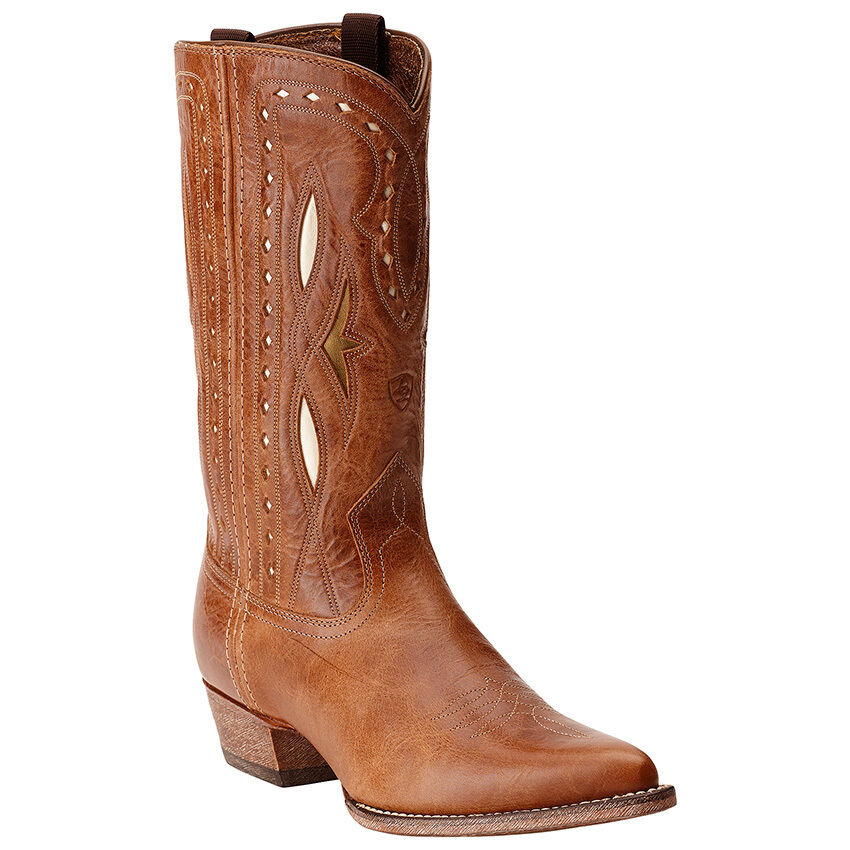 New Womens Ariat 10015324 Starling    leather cowboy Boots 133cf9
