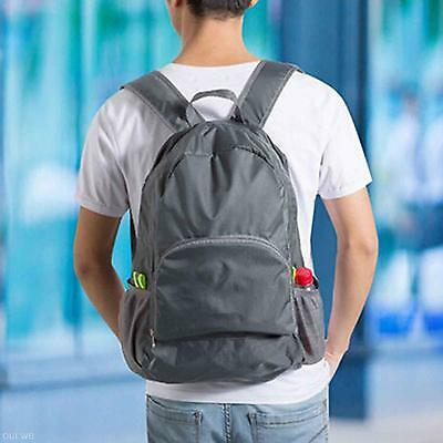 Novelty Foldable Portable Waterproof Travel Hiking Backpack Outdoor Shoulder Bag